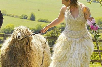 Os 34 vestidos de noiva mais estranhos que você já viu!