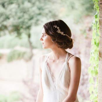 Cabelo de noiva preso | Credits: Sandra Aberg Photography