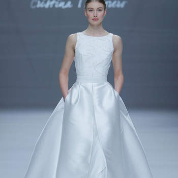 Cristina Tamborero. Credits_ Barcelona Bridal Fashion Week