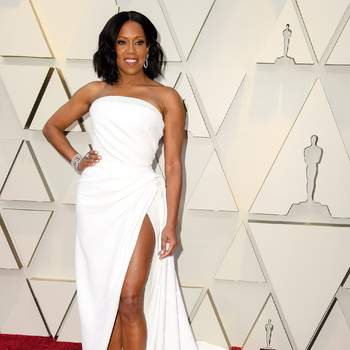 Regina King  in de Oscar de la Renta - Foto: Cordon Press