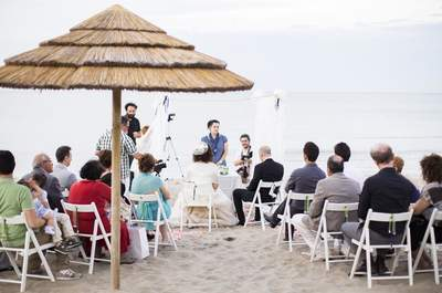 Un wedding beach a Riccione