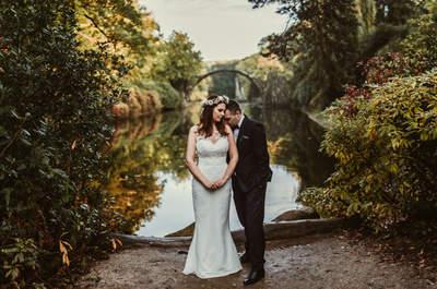 Relacja fotoreportażowa ze ślubu Natalii oraz Szymona z intymna sesją ślubną w Niemczech. Nie przegap!