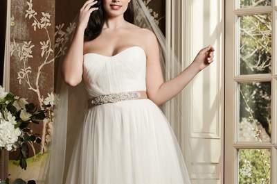 Vestidos de noiva plus size 2016: favoreça suas curvas ao máximo!