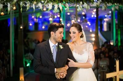 Melina & Guilherme: Casamento romântico e emocionante no Rio de Janeiro