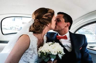 Inès et Jean : un mariage champêtre aux touches corail dans le Pas-De-Calais