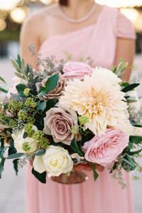 Bouquets de mariée avec des fleurs sauvages 2017