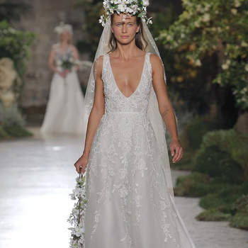 Reem Acra - Credits: Barcelona Bridal Fashion Week