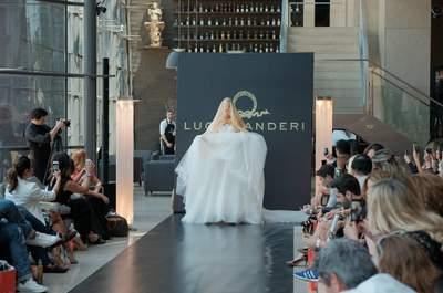 Lucas Anderi abre o Casamoda Noivas 2015 com brilhantismo: vestidos de noiva coleção Brazilian Bride