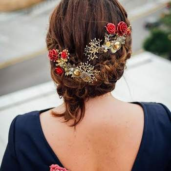 Peinado: Las Horquillas de Anita Tocado  Foto: Jfk Imagen Social