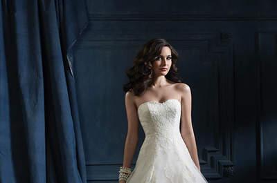 Os deslumbrantes vestidos de noiva da colecção Sapphire de Alfred Angelo