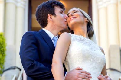 Casamento clássico de Luciana & Luis: à tarde e super romântico no Rio de Janeiro