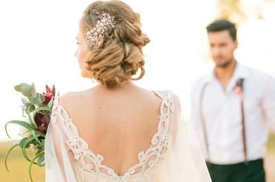 Свадебные прически: тенденции 2016
