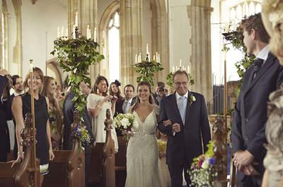 10 pensamientos que toda novia tiene antes de llegar al altar. ¿Preparada?