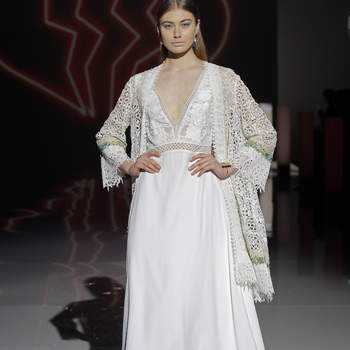 Marylise by Rembo Styling. Credits_ Barcelona Bridal Fashion Week