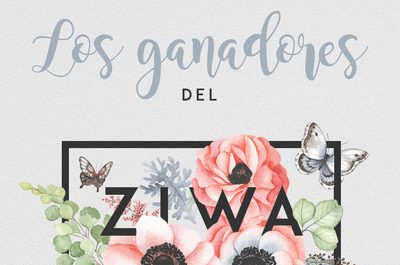 Termina ZIWA (Zankyou International Wedding Awards) 2017 ¡Último día para votar!