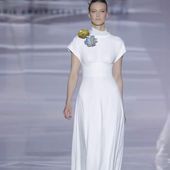 c5142b950 Vestidos de novia para mujeres bajitas  ¡65 diseños para lucir ...