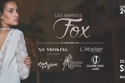 Rendez-vous avec les Mariées Fox pour un événement mariage prestigieux les 22, 23 et 24 septembre à Paris