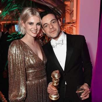 Rami Malek e Lucy Boynton | Foto Instagram