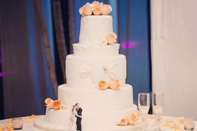 Tortas de matrimonio con flores, ¡la nueva moda! ¿Te gustaría tener una en tu fiesta?