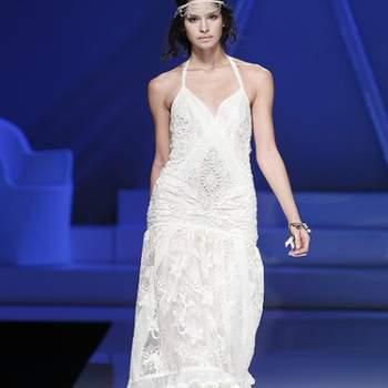 Robe de mariée YolanCris - Crédit photo: Barcelona Bridal Week