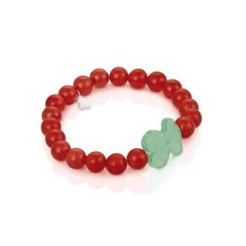 Una pulsera muy de moda de coral y jade. Foto: Tous.