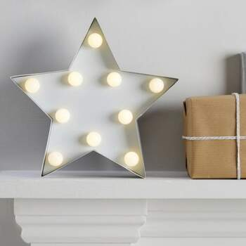 Lampe étoile - Achetez sur The Wedding Shop !
