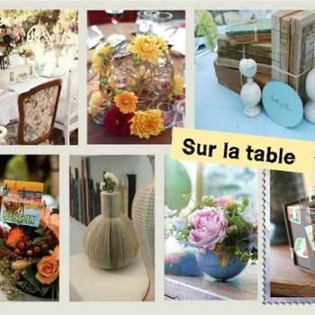 Décorations de table - Crédit photo: Décorations de Mariage