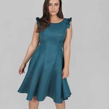 Credits: Chi Chi London Teal Blue Skater Dress, Evans