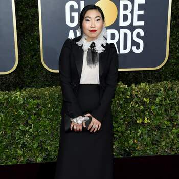 Awkwafina veste Dior. Crédits: Cordon Press