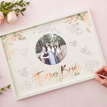 Libro de firmas floral- Compra en The Wedding Shop