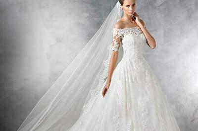 Robes de mariée aux épaules dénudées pour 2017 : charme et sensualité !