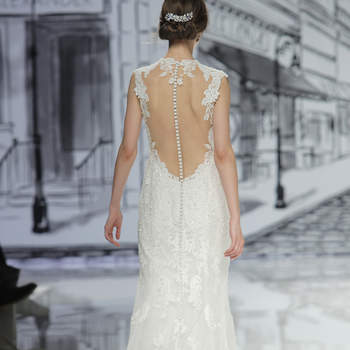 Justin Alexander. Credits: Barcelona Bridal Fashion Week