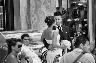 Consigue que tus fotos de boda sean diferentes a las del resto