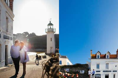 Découvrez le joli mariage sous le soleil breton d'Antoine et Charlotte!