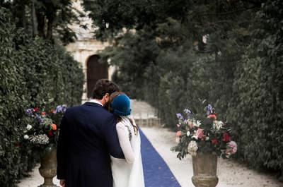 Una boda de cuento: así fue el gran día de Cullina y Álvaro