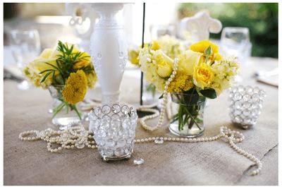#MartesDeBodas: Una divertida decoración de boda en color amarillo