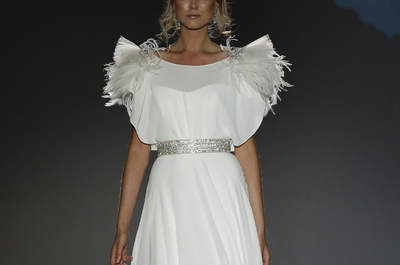 Scopri i 30 abiti da sposa più belli per il 2016 dalla Barcellona Bridal Week