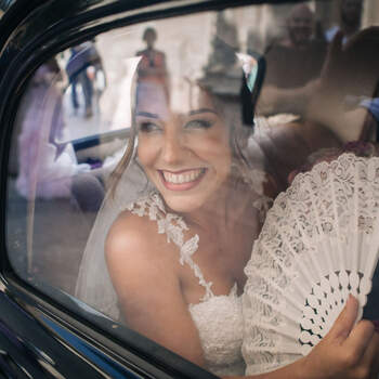 La llegada de la novia | Foto: La Kuriosa