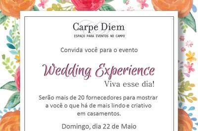 Wedding Experience: evento para noivos antenados acontece dia 22 de maio em São Paulo!