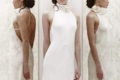 Hoje o meu vestido de noiva preferido... é dúplice! De Jenny Packham 2013