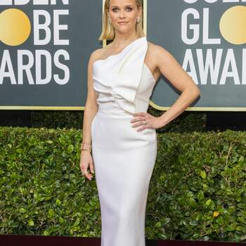 Reese Witherspoon abito Roland Mouret. Crédits Cordon Press