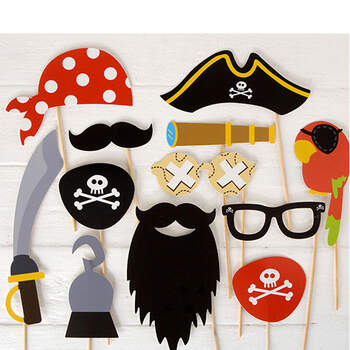 foto: Atrezzo photocall pirata