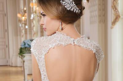 Robes de mariée Lillian West 2015 : simplicité et élégance pour un look de princesse
