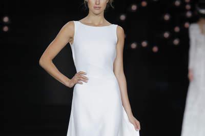 Suknie ślubne z dekoltem w łódkę 2017! Cudowne!