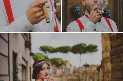 Reportaż ślubny, w którym zwiedzisz bajeczny Rzym w objęciach zakochanych!