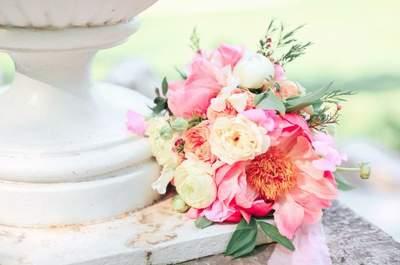 Свадебные букеты в розовом цвете: нежно и романтично