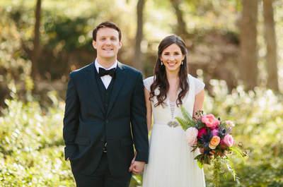 Una boda preciosa en rosa y dorado: Magia, distinción y una atmósfera espectacular