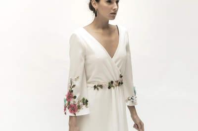 Robes de mariée décolleté en V : sensualité et glamour au rendez-vous