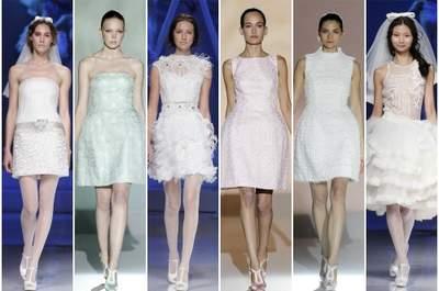 Vantagens de um vestido de noiva curto