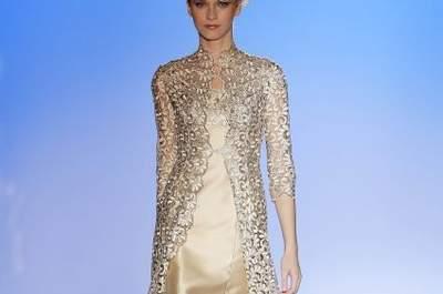 Elegantes vestidos de fiesta cortos tendencias 2014